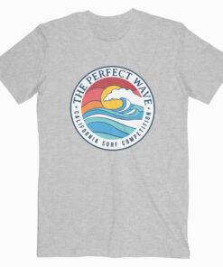 California Perfect Wave Summer Beach T Shirt