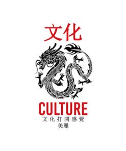 Culture Dragon Kanji T Shirt