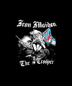 Iron Maiden The Trooper Tour Band T Shirt