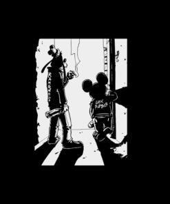 Punk Rock Goofy And Mickey Funny T Shirt