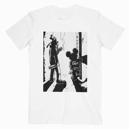 Punk Rock Goofy And Mickey Funny T Shirt