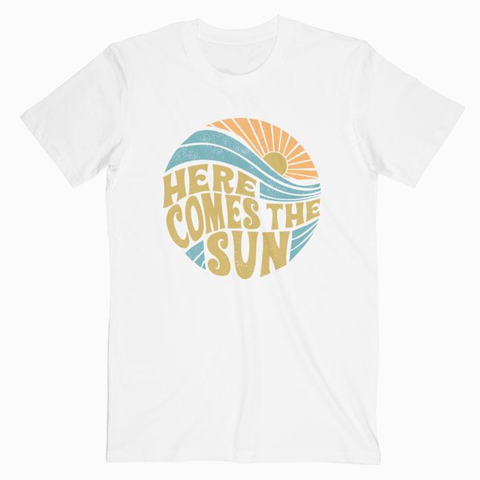 7e905c866d3a Summer Here Comes The Sun Vintage T Shirt S-M-L-XL-2XL-3XL