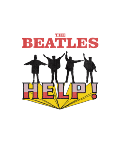 The Beatles Stop Worrying Help Band T Shirt