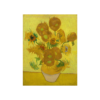 Van Gogh Art Sun Flowers T Shirt