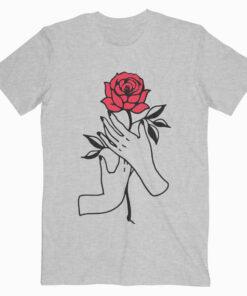 Aesthetic Rose T Shirt