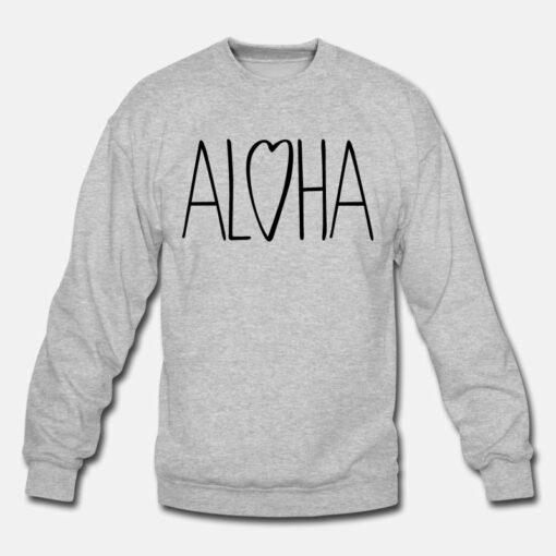 Aloha Love Sweatshirt