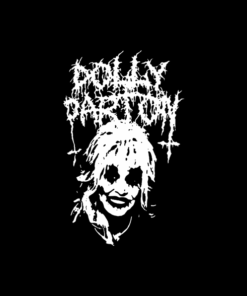 Metal Dolly Parton T Shirt