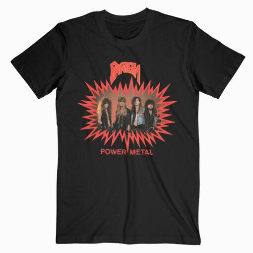 Pantera Power Metal Band T Shirt