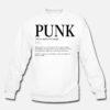Punk Verb Sweatshirt