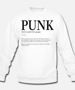 Punk Verb Sweatshirt