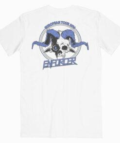 Enforcer From Beyond European Tour Band T Shirt