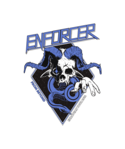 Enforcer From Beyond European Tour Band T Shirt