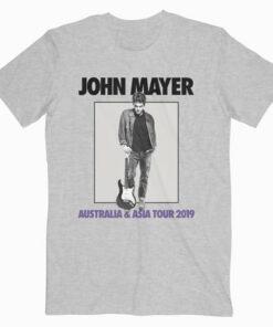 Australia Tour Mayer Band Asia 2019 T Shirt And John 9IYEb2WDHe