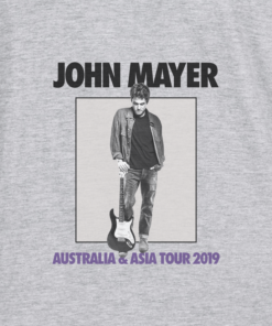 John Mayer Tour Australia And Asia 2019 Band T Shirt