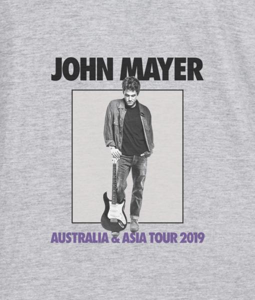 John Mayer Tour Australia And Asia 2019 Band T Shirt
