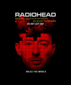 Radiohead Band T Shirt