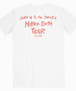 Red Hot Chili Peppers Mothers Milk Tour Band T Shirt