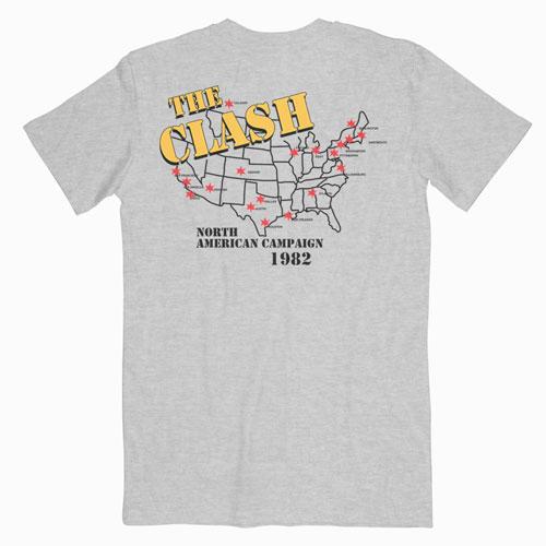 The Clash 1982 tour Band T Shirt