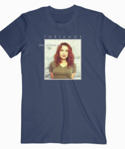 Tori Amos Silent Of The Years Band T Shirt