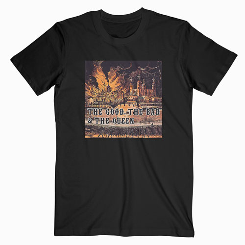 The Good The Bad And The Queen Band T Shirt