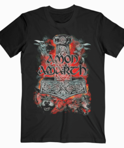 Amon Amart Warriors Of The North Band T Shirt