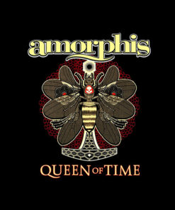 Amorphis Queen Of The Time Band T Shirt