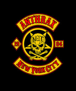 Anthrax New York City Band T Shirt