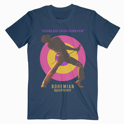 Queen Bohemian Rhapsody Band T Shirt