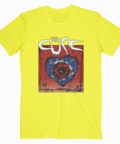 The Cure Wish Band T Shirt