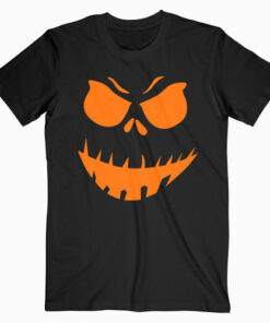 Scary Pumpkin Halloween T Shirt