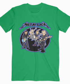 Metalica Cartoon Green