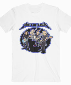 Metalica Cartoon White