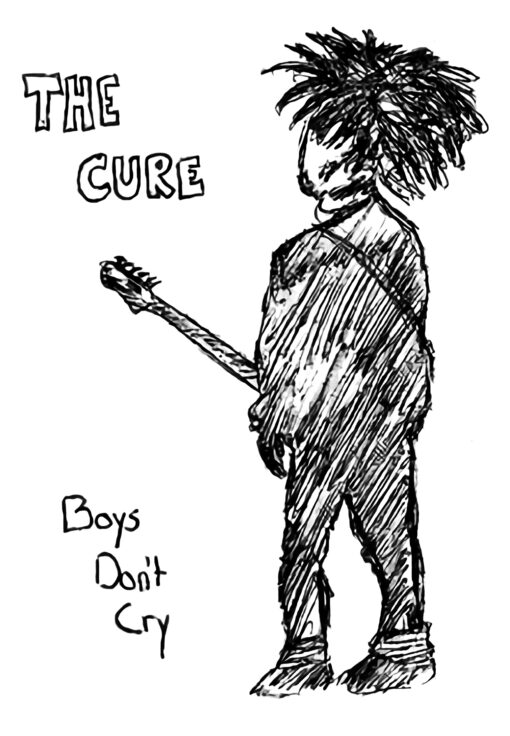The Cure Boys Don't Cry