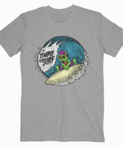 The Temple of Surf Tshirt Dark Grey