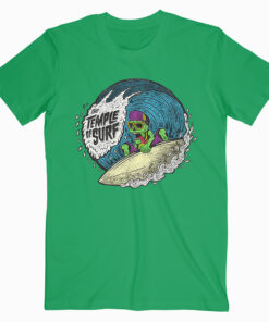 The Temple of Surf Tshirt Green