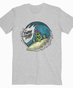 The Temple of Surf Tshirt Grey