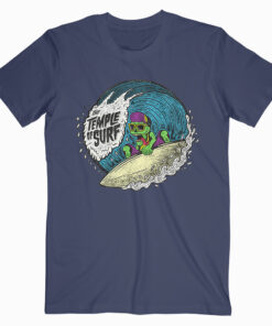 The Temple of Surf Tshirt Navy