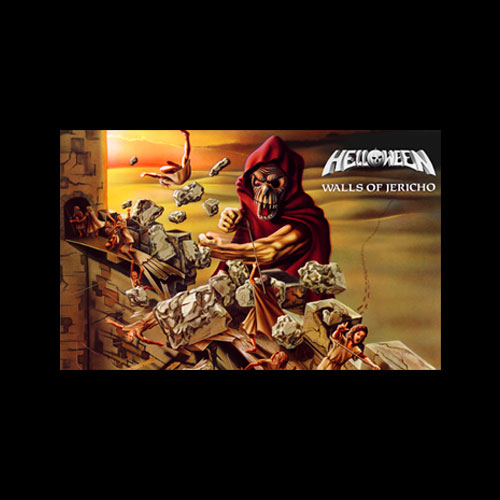 Helloween Walls Of Jericho Band T Shirt