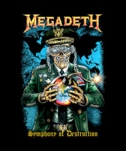 Megadeth Symphony Of Destruction Band T Shirt