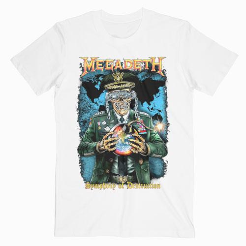 Megadeth Symphony Of Destruction Band T Shirt