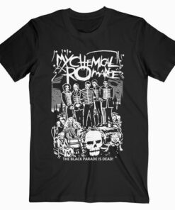 My Chemical Romance The Black Parade Is Dead Band T Shirt