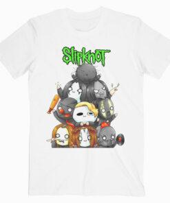 Slipknot Chibi Band T Shirt
