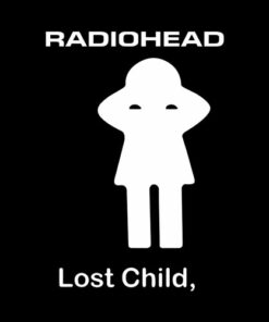 Radiohead Lost Child Band T Shirt