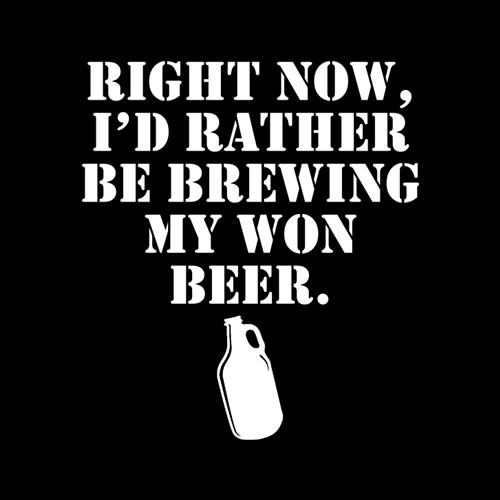 Beer Brewing My Won T Shirt
