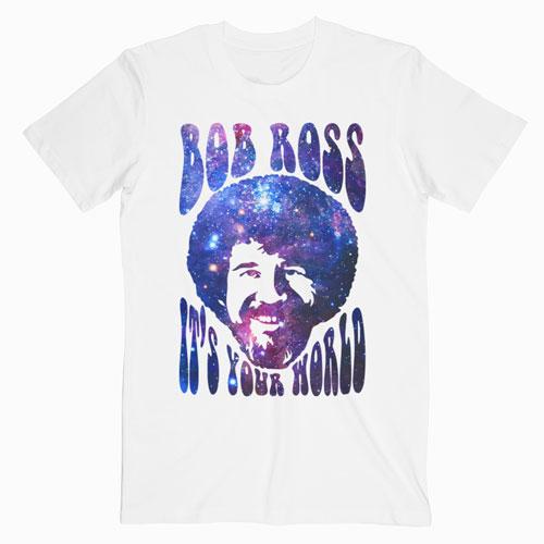 Bob Ross T Shirt