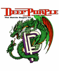 Deep Purple Band T Shirt The Battle Rages On