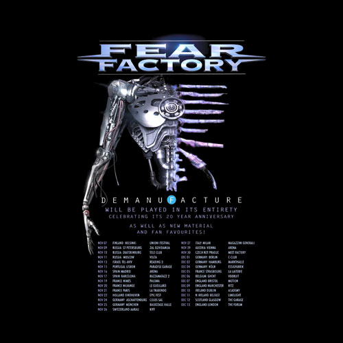Fear Factory 20 Year Anniversary Band T Shirt