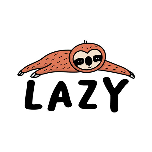 Lazy Sloth Funny T Shirt