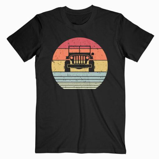 Off Road Shirt Retro Style 4X4 T-Shirt