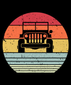 Off Road Shirt Retro Style 4X4 T-Shirt